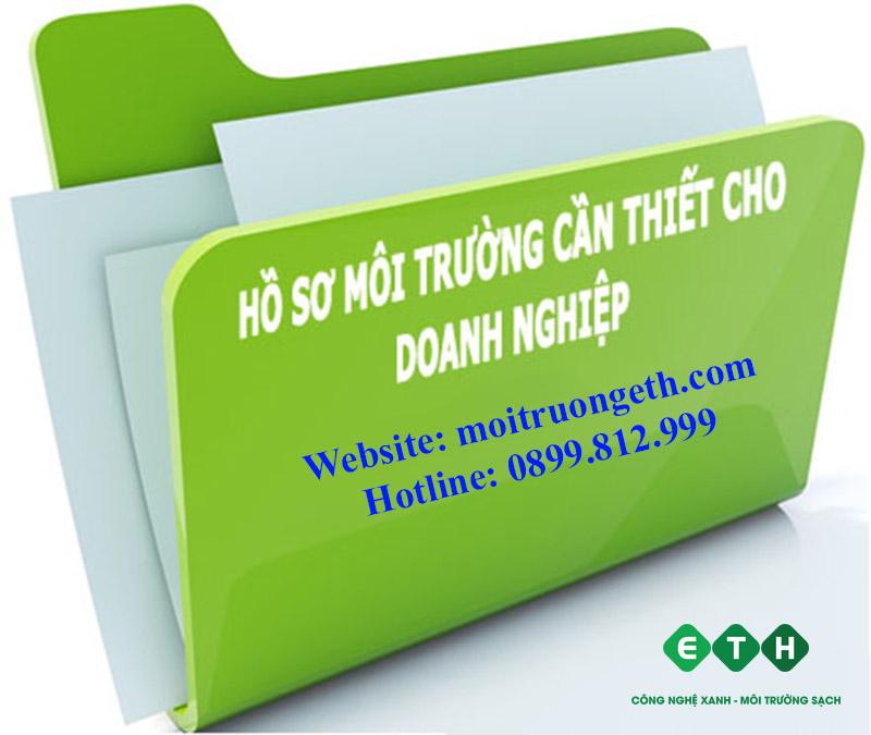 ho so moi truong can thiet cho doanh nghiep